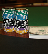 Poker Chips and Cash