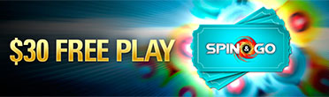 Spin and Go $30 free play
