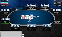 Sportsbetting.ag Poker tables