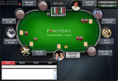 PokerStars poker room live