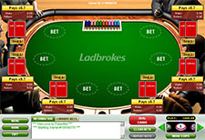 Ladbrokes poker tables