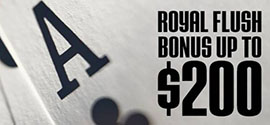 Royal Flush Bonus