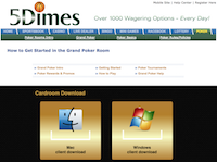 5Dimes Poker Download