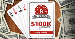 Bovada 100k GTD Poker Tournament